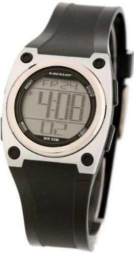 Dunlop Reloj Digital para Hombre de Automático con Correa en Caucho DUN-118-L01: Amazon.es: Relojes
