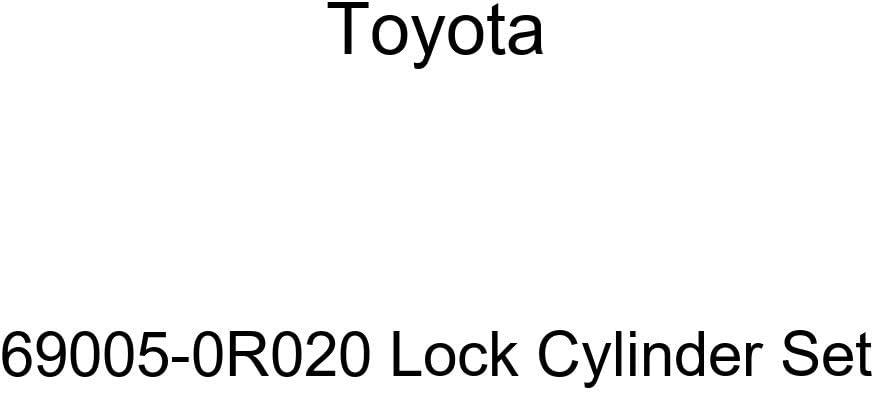 Genuine Toyota 69005-0R020 Lock Cylinder Set