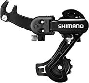 Tz31 Rear Derailleur 6/18 Speed Transmission Mountain Bike Eye Hook 7 Speed with Aluminum and Steel Constructi