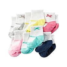 Carter's Baby-Girls Newborn Mary Jane Socks (Pack of 6)