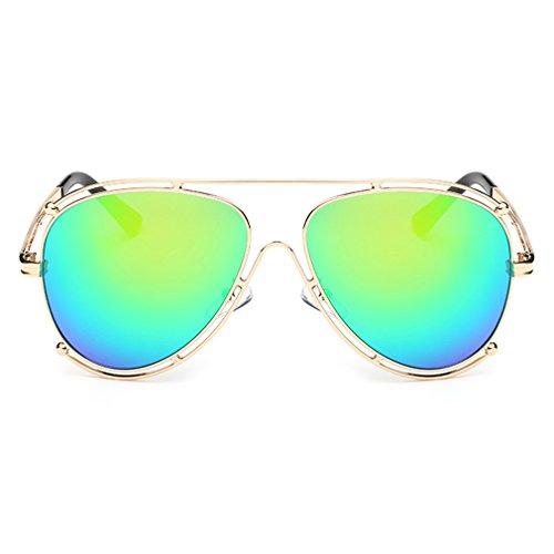 A-Royal Fashion Personality Metal Frame Wayfarer - Uk Spitfire Sunglasses