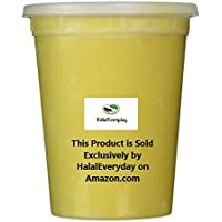 Raw Unrefined Grade A Soft and Smooth African Shea Butter from Ghana - Amazing quality and consistency - comes in a 32 oz Jar - Total weight approximately 24 oz by HalalEveryday