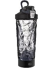 Blackube Elektrische Shaker, BPA-vrij, Tritan, 600ml 20oz, draagbare elektrische Vortex Mixer, oplaadbaar, elektrische blender, geschikt voor fitness mensen, zelfroerende mok, waterdicht