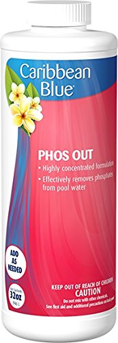 Caribbean Blue Phos Out Swimming Pool Phosphate Remover Pool & Spa Chemicals