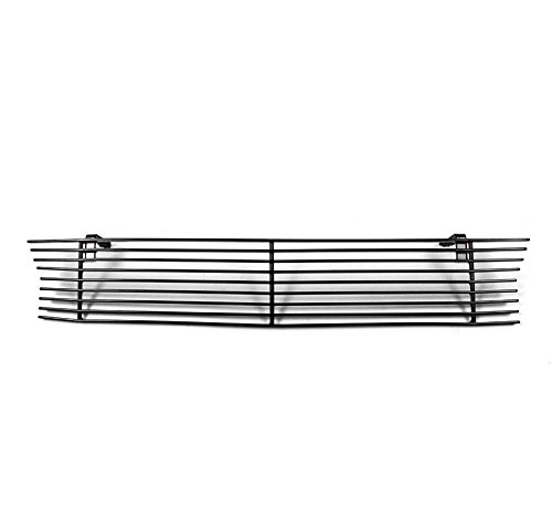 Body Mustang Saleen (ZMAUTOPARTS 1999-2004 Ford Mustang Saleen Front Bumper Billet Grille Insert Black)