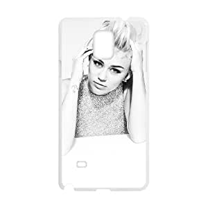 Samsung Galaxy Note 4 Cell Phone Case White Miley Cyrus 002 Special gift AJ840U94