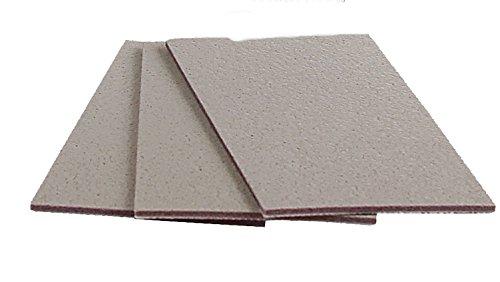 3M 30289 Trizact Hookit 2-3/4'' x 5-1/2'' P5000 Grit Foam Sheet, 15 Count by Trizact (Image #1)
