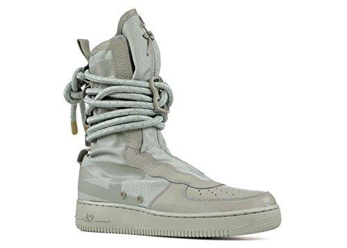 (Nike SF AF1 Air Force Hi Mens Trainers AA1128 Sneakers Shoes (UK 11 US 12 EU 46, sage sage sage 201))