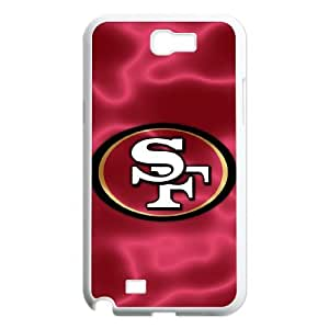 Best Phone case At MengHaiXin Store Team Sports San Francisco 49ers Pattern 136 For Samsung Galaxy Note 2 Case