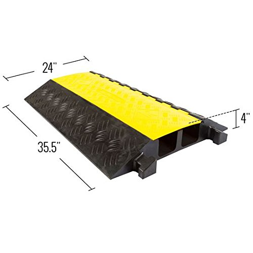 Rage Powersports DH-CP-7 2-Channel Heavy Duty Cable Protector Ramp by Rage Powersports (Image #4)
