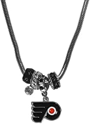 NHL Euro Bead Necklace, 18-Inch