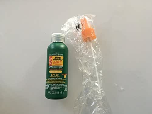 Avon Skin so Soft Bug Guard Plus Expedition SPF 30 Pump Spray, 4 Ounce