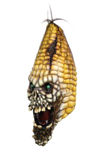 Mask Head Pumpkin Evil Corn]()