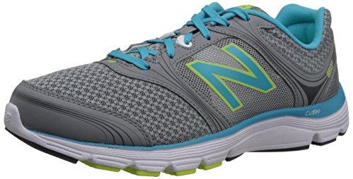 New Balance Women's W850V1 Running Shoe,Silver/Yellow,8 B US