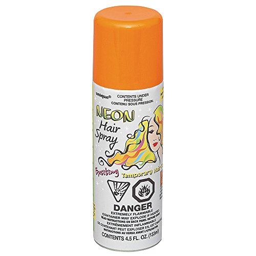 Orange Hair Color Spray