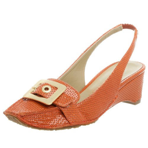 Jessica Bennett Women's Heidi Wedge,orange,7 M