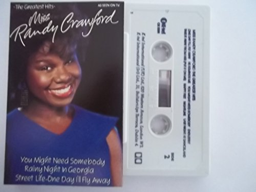 RANDY CRAWFORD The Greatest Hits Cassette