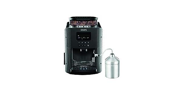 Krups Pisa EA816B - Cafetera automática, color negro: Amazon.es: Hogar