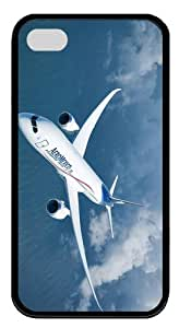 carrying case Boeing Aero Mexico TPU Black Case for iphone 4/4S