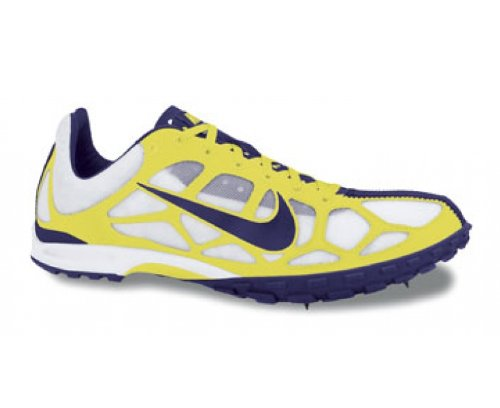 Nike Zoom Waffle XC VIII cross-country spike para 407060-100, color amarillo, talla 47,5
