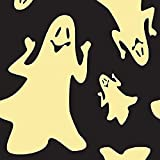 Duck Brand 240848 Glow in the Dark Ghosts Duct Tape, 1.88 Inches x 8 Yards, Single Roll