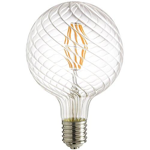 Sunlite G48/LED/SG/AQ/12W/D/22K/MOG LED Antique Filament ...