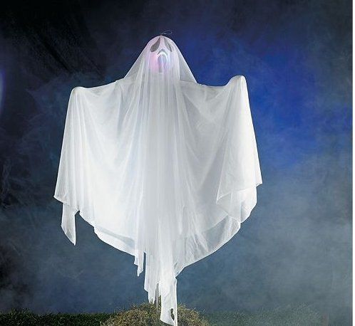 [Halloween Ghost Front Yard Decoration Light Up LED] (Halloween Yard)