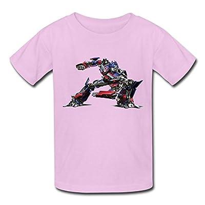 ZIYUAN Kid's Retro Transformers Optimus Prime T-shirts