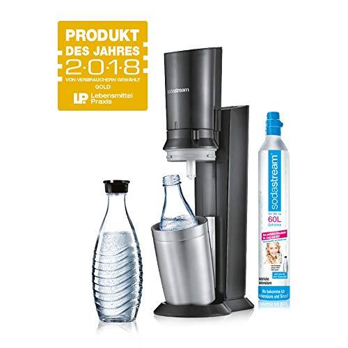 [amazon.de] SodaStream Crystal 2.0 Wassersprudler + 1 cilindar i 2 staklene čase za 95,99€