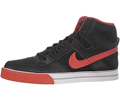 a28cce94227026 Amazon.com  Nike Delta Force High AC - Black   Sport Red-Wolf Grey-White
