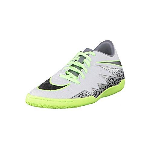 Nike Hypervenom Phelon Ii Ic, Botas de Fútbol para Hombre Plateado (Plateado (pure platinum/black-ghost green))
