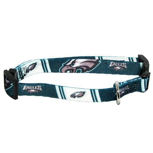 Hunter MFG Philadelphia Eagles Dog Collar, Extra Small