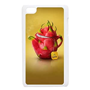 ZOEHOME Phone Case Of 3D fruit ,Hard Case !Slim and Light weight and won't fade, Scratch proof and Water proof.Compatible with All Carriers Allows access to all buttons and ports. For Ipod Touch 4