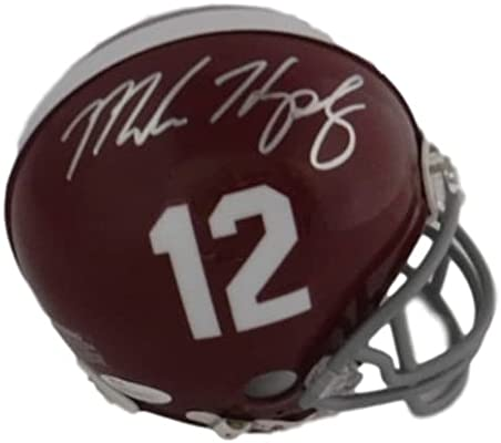 198091ae646 Amazon.com: Marlon Humphrey Autographed Alabama Crimson Tide Mini ...