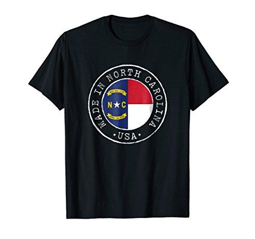 Vintage North Carolina Tshirt State Flag Retro Nc Shirt Gift