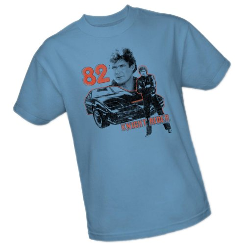 1982 Knight Rider Official Adult T-Shirt - S to 3XL