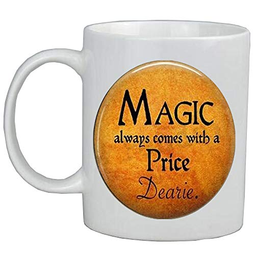Halloween Costume Jewelry-Magic always comes with a Price Dearie-Quote-Magic Spell,AS098]()