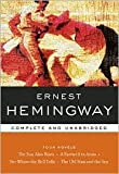 Four Novels : The Sun Also Rises; A Farewell to Arms; For Whom the Bell Tolls; The Old Man and the Sea, Hemingway, Ernest, 0760796629