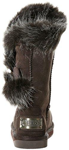 Australia Luxe Collective Nordic Angel Short - Botas Mujer Braun (Espresso Faux Fur)