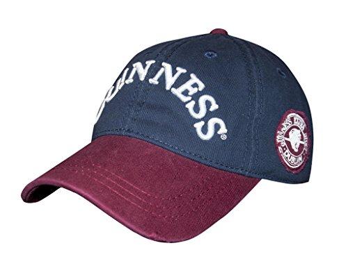 Baseball Guinness (Guinness Navy Distressed Label Baseball Cap)