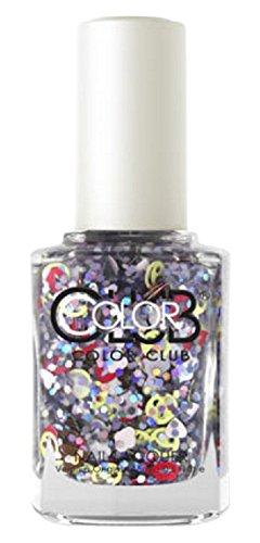 Amazon.com: Color Club Nail Lacquer Nailmoji, Holographic Glitter ...