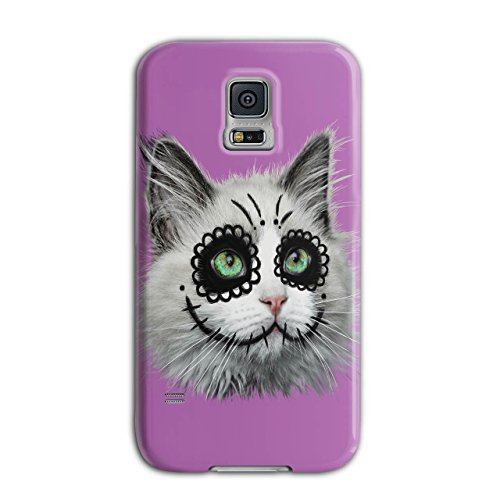 [Halloween Kitty Cat Disguise NEW Black 3D Samsung Galaxy S5 Case | Wellcoda] (Cute Halloween Names For Kittens)
