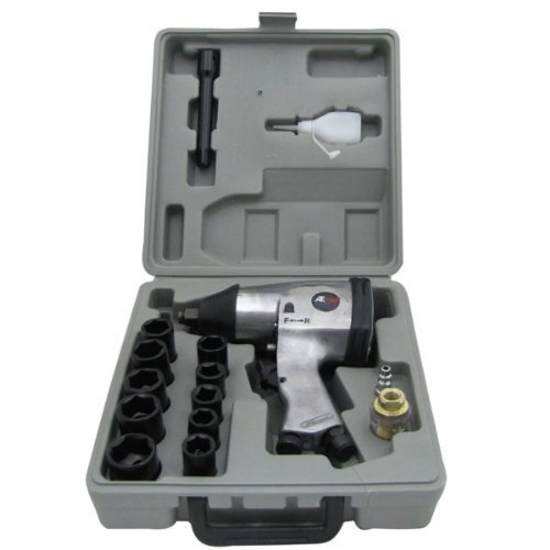 1/2'' Air Impact Tire and Wheel Lug Nut Automotive Shop Torque Wrench Kit by EZ Travel Collection