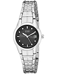 Citizen Womens Eco-Drive Watch with Date, EW1410-50E