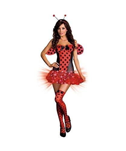 Sexy  (Light Me Up Ladybug Dress Costumes)