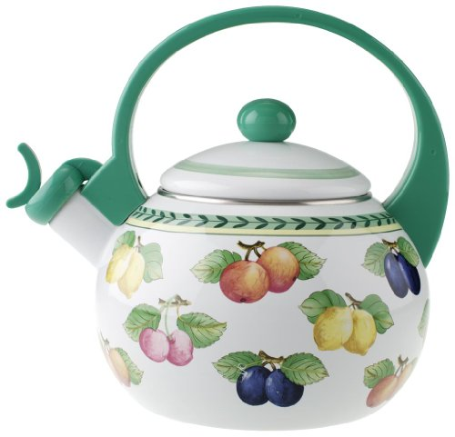 The French Garden - Villeroy & Boch 1454807021 French Garden Tea Kettle, 9 Inches, Multi