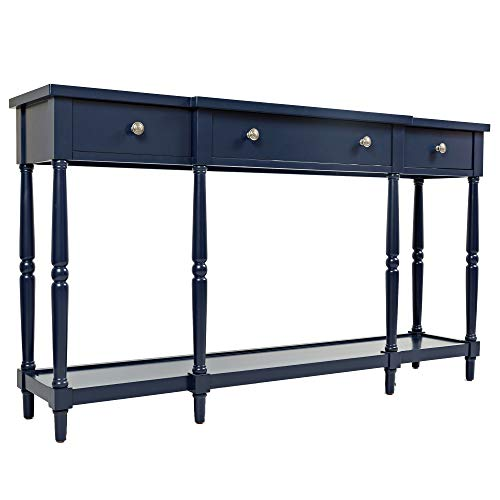 Blue Console - Jofran: 1633-60, Stately Home, 60