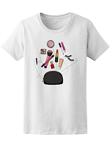 Beauty Bag Cosmetics Makeup Women's Tee - Image by Shutterstock from Teeblox