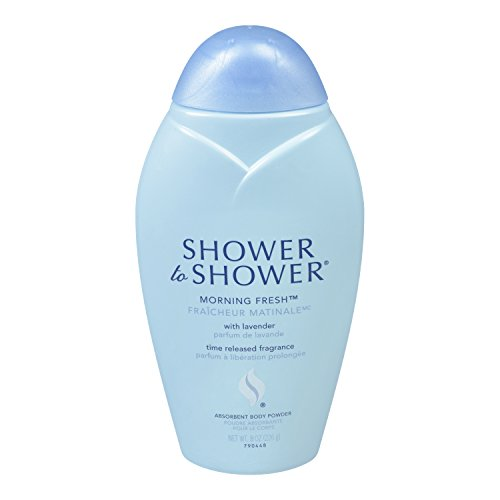 Shower To Shower Absorbent Body Powder, Morning Fresh, 8 Ounce