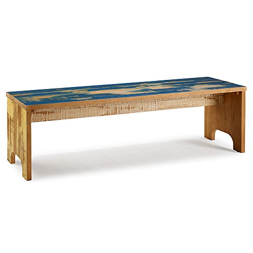 The Beach House Design Reclaimed Collection Accent Bench 63